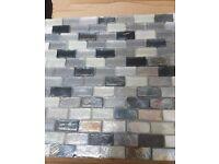 Glass Mosaic Sheets x2