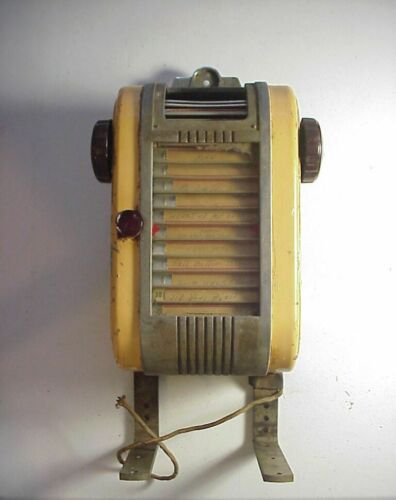 Vintage 1940s AMI JUKEBOX REMOTE SELECTION WALL BOX