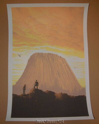 Close Encounters Of The Third Kind Mark Englert This Is Important Print S/N - $149.99