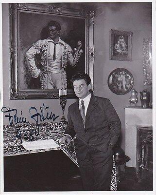 VILEM ZITEK opera bass signed photo in his living room 1938