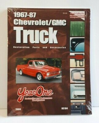 Chevrolet/ GMC 1967-87 Truck Restorating Parts and Accessories, brand new
