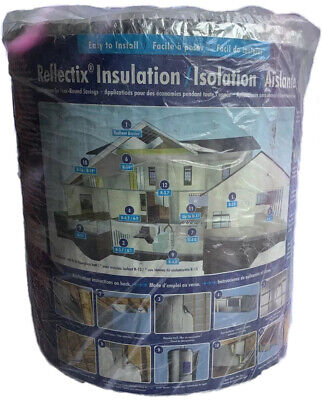Reflectix Insulation 16in. X 25ft. Reflective Bubble Insulation. Brand New