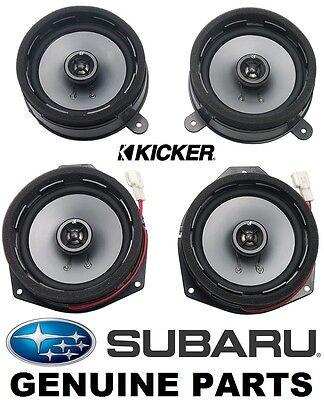Speaker Upgrade Kit by Kicker for SUBARU Impreza XV Crosstrek WRX STI H631SFJ001