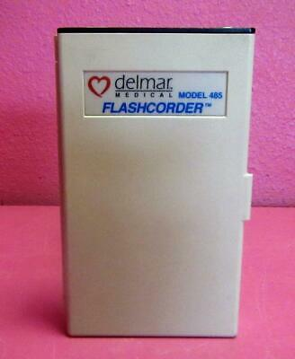 Delmar Medical 485 Flashcorder 3 Channel Portable Ecg Monitor Recorder Wo Leads