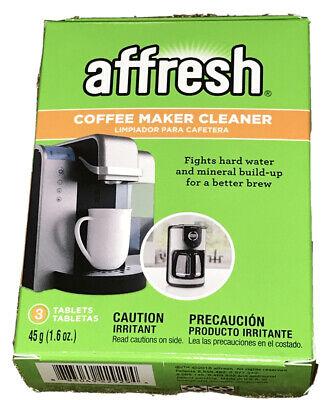 AFFRESH Coffeemaker Cleaner Water Deposits Mineral Build Up 3 Tablets Keurig
