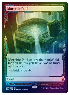 Zendikar Expeditions: Morphic Pool (FOIL) x1~Fetch Land~Mythic Rare~English~NM