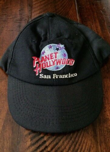 Planet Hollywood San Francisco Embroidered Baseball Cap 90s Used