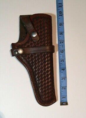 Vintage Leather Gun Holster Triple K