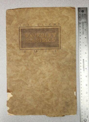 1911 Waverley Silent Electric Sales Catalog