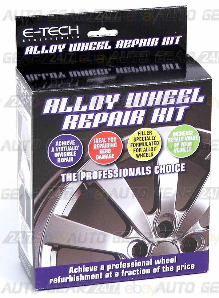 alloy wheel repair rim repair curb damage repair kit. Black Bedroom Furniture Sets. Home Design Ideas