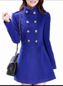 Blue coat size M