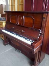 Ornate upright piano, lovely sound