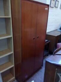 Retro teak wardrobe