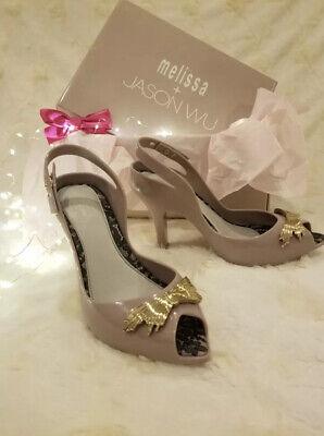 Unique Vivienne Westwood Melissa X shoes!!!! 4in High Heels