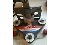 Wissota skate sharpening machine
