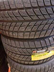 245/45R18 BRAND NEW SET WINTER TIRES HEADWAY 245/45/R18 SNOW TIRES 245 45 18
