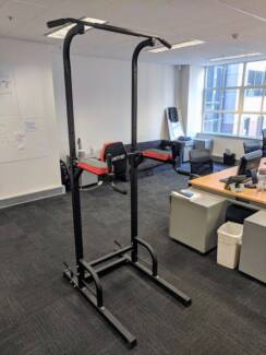 Powertrain Tower Pull Chin Up Station Home Gym