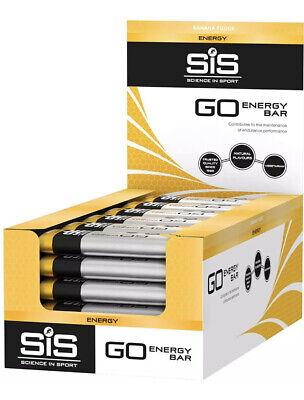 SiS Go Energy, High Carb, fruit infused Energy bar Banana Fudge 30 Pack