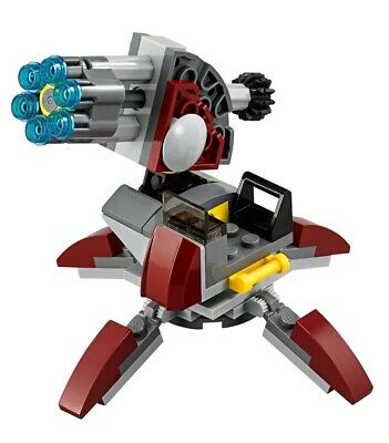 LEGO Star Wars Senate Commando Trooper Cannon Gun