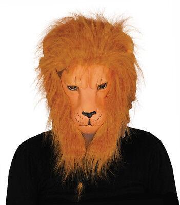 Löwe Maske König Maskenkostüm Gesichtsmaske und Haar Junggesellenabschied Spielt (Gesichts Haar Kostüme)