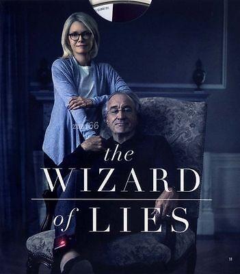 2017 Hbo The Wizard Of Lies Emmy Dvd Robert Deniro As Madoff Michelle Pheiffer
