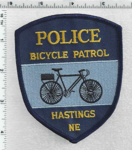 Hastings Police Bicycle Patrol (Nebraska) 1st Issue Shoulder Patch