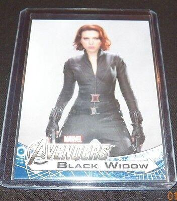 Avenger Assemble Character Trading Card Black Widow Scarlett Johansson #171