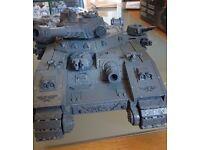 Warhammer Baneblade unpainted - heavy tank - Warhammer 30k / 40k. As shown