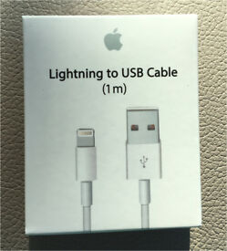 Apple IPhone IPad Lightning USB 1m Cable
