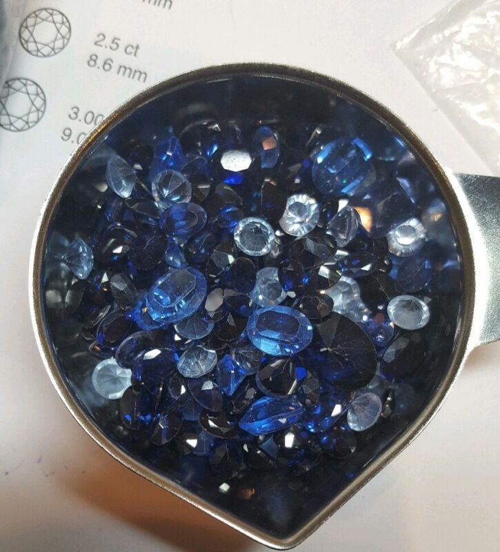 50 CARATS BLUE SAPPHIRE Lot Gemstones FROM Wholesale LIQUIDATION!