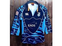 Cardiff Blues Rugby Top - Women/Girls Size 10