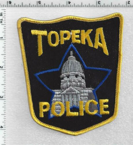 Topeka Police (Kansas) 3rd Issue Shoulder Patch