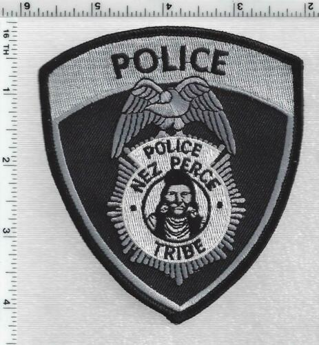 Nez perce Tribe Police (Idaho) 1st Issue Subdued Shoulder Patch