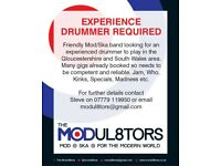 Drummer Required for Mod & Ska Band
