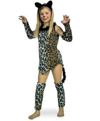 Katze Wildkatze Leopard Kostüm Karneval Fasching Kinder Tierkostüm Katzenkleid