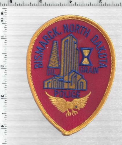 Bismarck Police (North Dakota) 3rd Issue Shoulder Patch