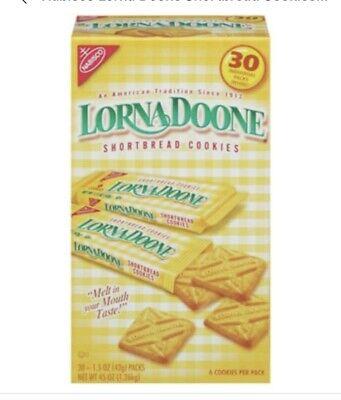 Lorna Doone-Shortbread Cookies, 30/1.50z Packs