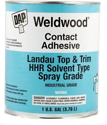 Dap Weldwood Contact Adhesive- Hhr Solvent Type Spray Grade 1 Gallon