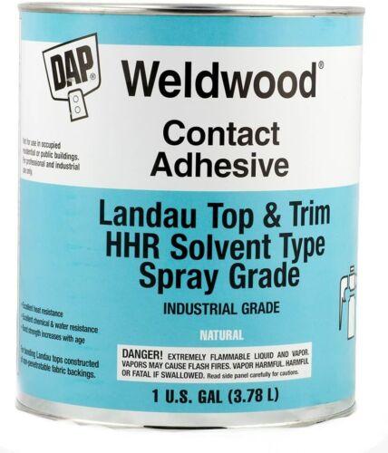 Dap Weldwood Contact Cement Adhesive - Landau Top HHR Solvent Spray 1 Gallon
