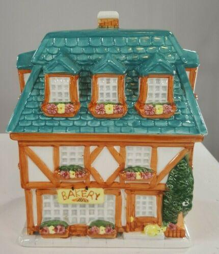 Vintage Cookie Jar Bakery Collectible