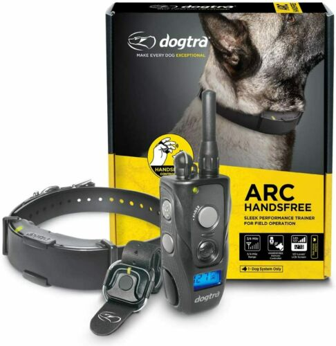 Dogtra ARC HandsFree Remote Dog Training - 3/4 Mile - Bluetooth - WaterProof NEW
