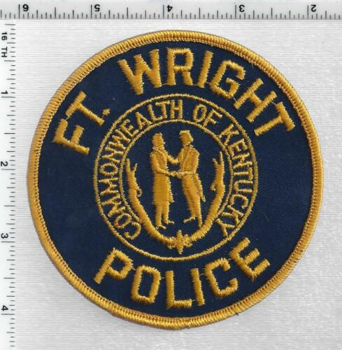 Ft, Wright Police (Kentucky) 1st Issue Shoulder Patch