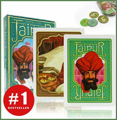 Jaipur - New travel size Jaipur card game English 2 player trading