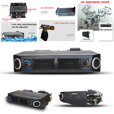 12V 3 Speed 32 Pass Coil Car Underdash Evaporator Compressor A/C Air Conditioner for sale  Shipping to Canada