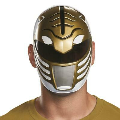 White Power Ranger Vacuform Costume Mask