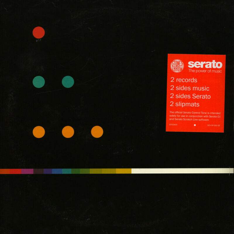Serato x Stones Throw - Stones Throw 2018 Control Vinyl