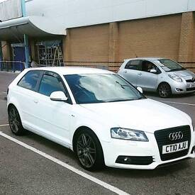 Audi a3 s line tdi special edition black edition