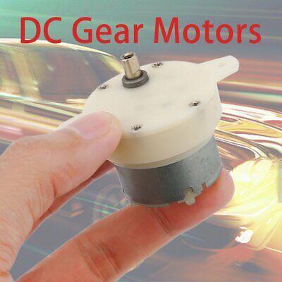Professional 12v Dc Gear Motors Durable High Torque 3rpm 500tb Electric Motors S