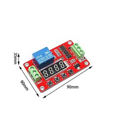 Frm01 Dc 12v 1 Channel Multifunction Relay Module Loop Delay Timer Switch Yk