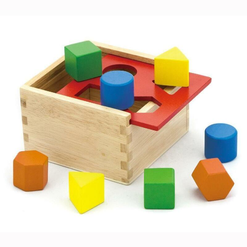 Toddler Toys Puzzle : Wooden blocks ebay